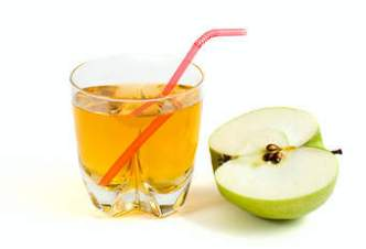 apple juice and aloes